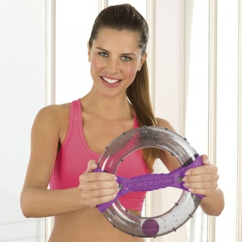 PowerSpin® Armtrainer inkl. Workout-DVD!