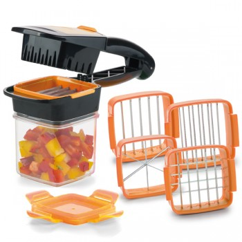 Genius® Nicer Dicer Quick Set 7-tlg., orange