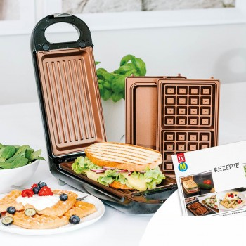 Livington FlipSwitch Multifunktionsgrill 5in1