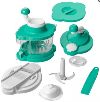 Genius Twist Cutter Set 10tlg. türkis