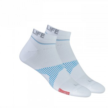 Neuro Socks Athletic NoShow Weiss
