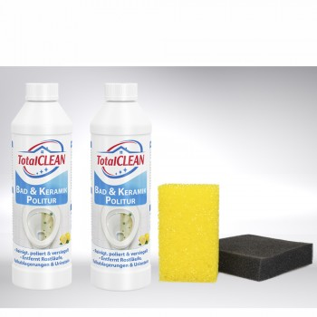 TotalCLEAN Bad und Keramikpolitur Set